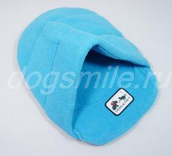 Синий дождевик с карманом AS для собак в магазине dogsmile.ru dd2bcdc4dadc3